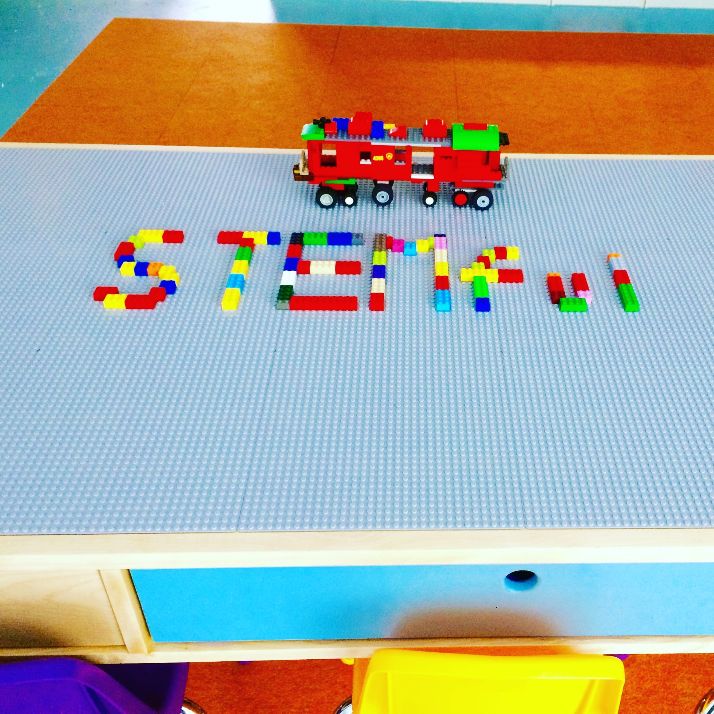 customize LEGO table