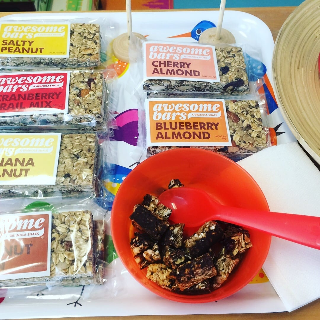 local organic granola bars