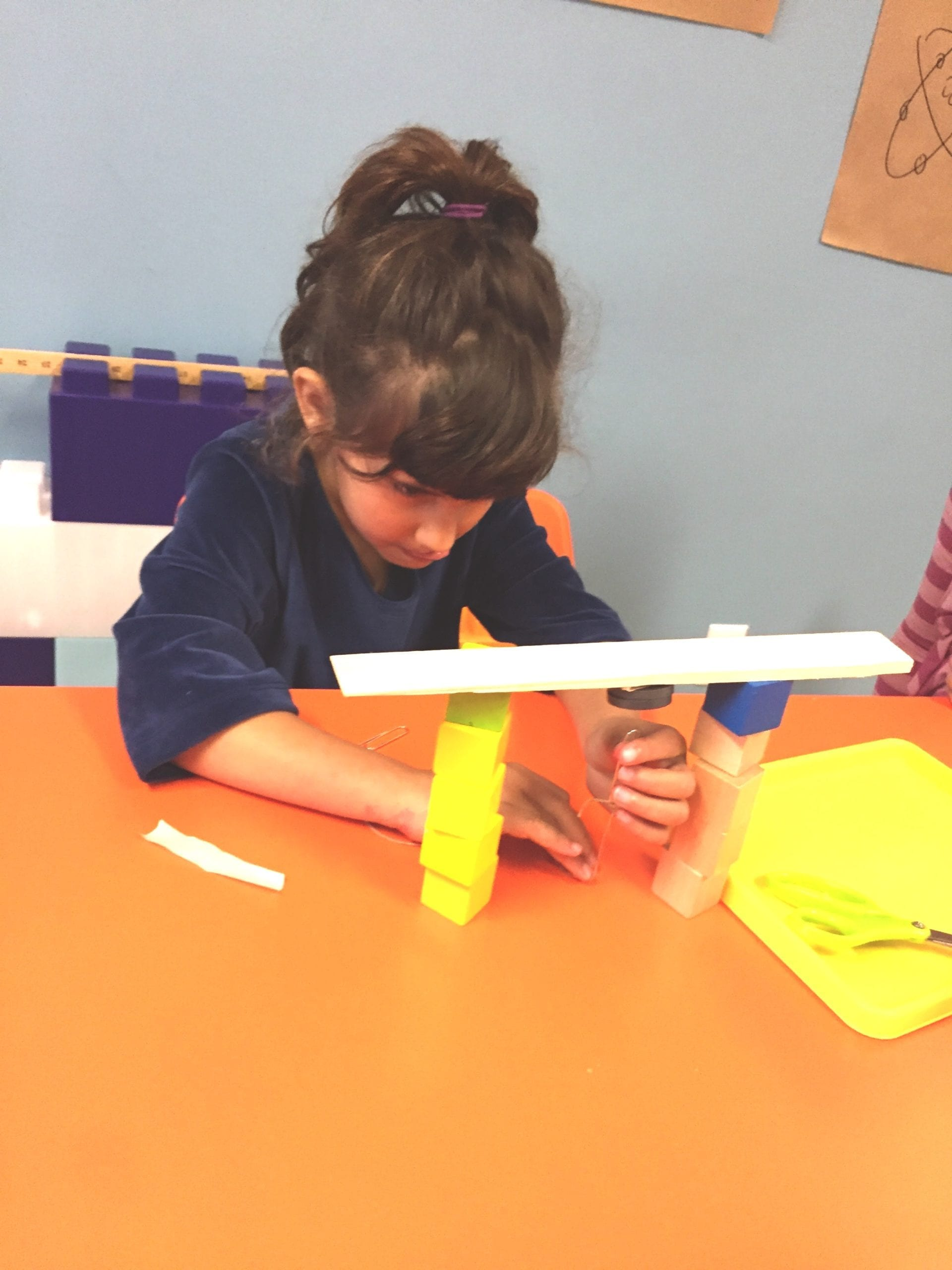 science experiment with magnets